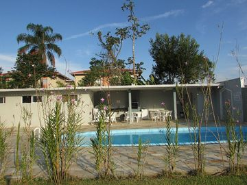 Apartment in Ubatuba in Itagua 600mts from Praia Grande - 2 bed. with pool