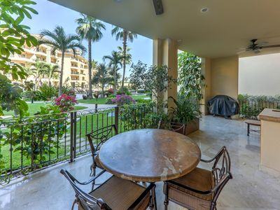 Photo for Ground Floor, Pool Side Luxury– Cabo Villa on Swimmable Medano Beach