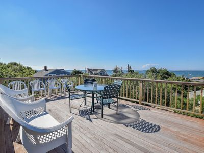 Photo for #401: Stunning Bay View from Rooftop Deck! Steps to Private Beach! Dog Friendly!