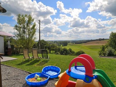Nice farm renovated with taste and situated at a few km from Durbuy, with a wonderful vieuw over the
