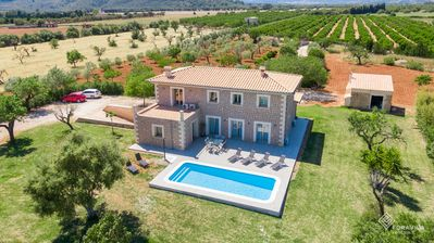 Photo for Son Vivot - Beautiful villa with pool and garden in the north of Mallorca
