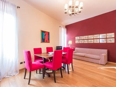 Photo for Apartment 231 m from the center of Rome with Internet, Air conditioning, Washing machine (442256)