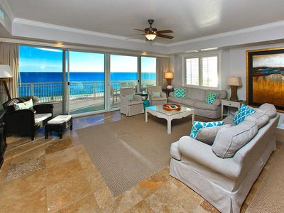 Photo for Gulf Front Dunes Of Crystal Beach Condo ~ Stunning Beach Views ~ Great Amenities
