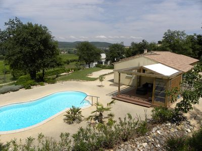 Photo for Extremely spacious villa with private swimming pool in the South of France