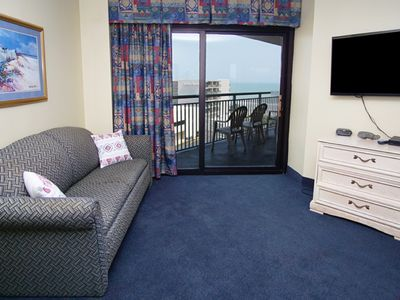 Photo for Sand Dunes North Tower 601,  Spacious 3 Bedroom Condo With Lovely Ocean Views,  Indoor Outdoor Swimming Pools, Hot Tub, Lazy Riv
