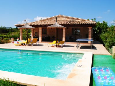 Photo for Cozy house for 4 people with private pool and jacuzzi