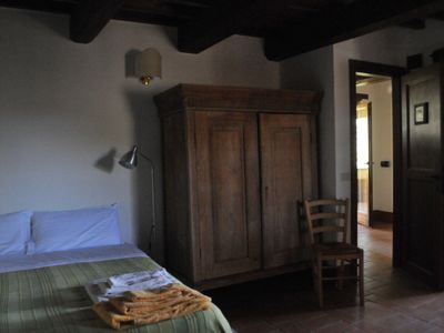 Photo for Il Corbezzolo, room in an ancient farmhouse with pool in the Sabina hills