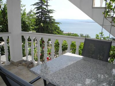Photo for Studio with air conditioning 70 m from the Adriatic Sea