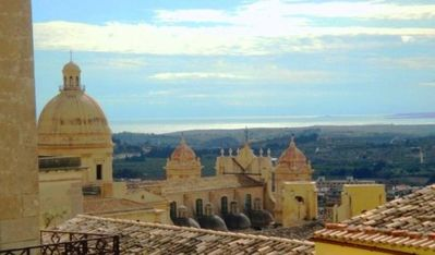 Photo for In the historical center of Noto renovated ancient house with wonderful view and many comfort