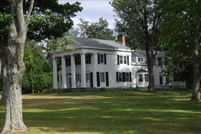 Historic Maple Grove mansion on St. Lawrence River