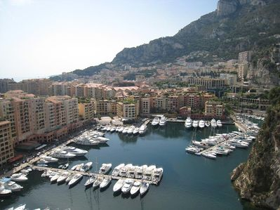 The port of Fontvieille, Monaco