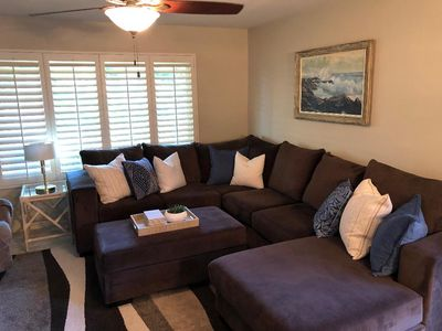 Photo for Highly desirable,  A Unit,  3 bedroom, 2 bath, Condo in Deep Canyon Tennis Club.