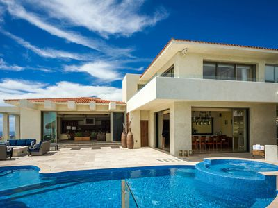 Photo for Luxury 6 BR Oceanfront Villa Penasco Includes WiFi, Pool, Home Theatre & More!