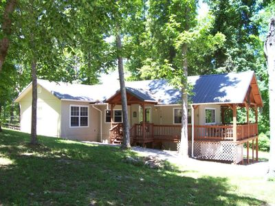 Photo for Affordable, Private, Norfork Lake View Home - Walk to water's edge! Super Nice!