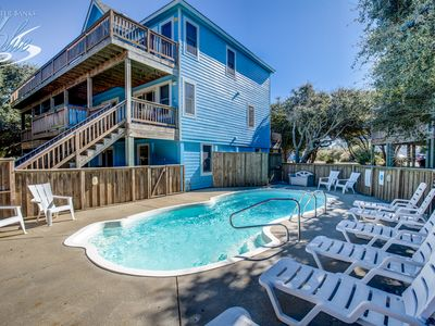 Photo for Lazy Dayz | 620 ft from the beach | Private Pool, Hot Tub