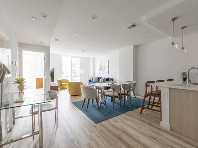 Photo for Sun-kissed 3BR Loft with Patio Minutes to NYC