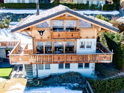 Photo for Chalet Buffalo Haute-Nendaz-4 Vallées-Luxe- Jacuzzi-6 rooms-6 bathrooms-16guests