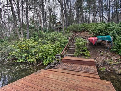 Photo for Resort House on Hogback Lake w/Dock & Fire Pit!