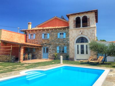 Photo for Authentic villa with shared swimming pool and magnificent views from the watchtower
