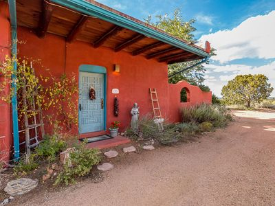 Photo for ❂ Pet Friendly! Charming Casita on Acreage and in Town! Spectacular Mtn Views!