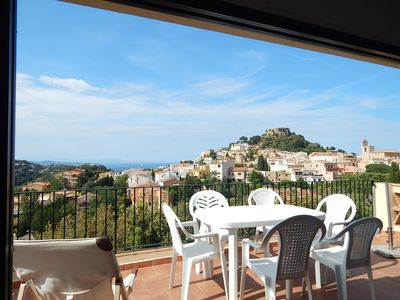 Photo for Begur, For 6-7 people - House with spectacular views of the sea and town