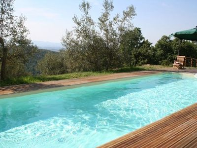 Photo for Apartment in a Mas in the middle of the olive grove with private pool