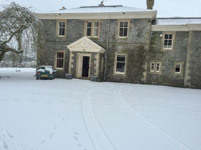 Photo for Grand country house on the banks of River Dee, sleeps 12