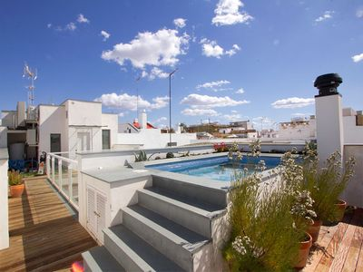 Photo for Teodosio Terrace. 3 bedrooms, 3 bathroooms, private terrace with pool
