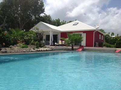Photo for IN SECURED AREA LUXURIOUS RECENT VILLA WITH LARGE SWIMMING POOL 11X4