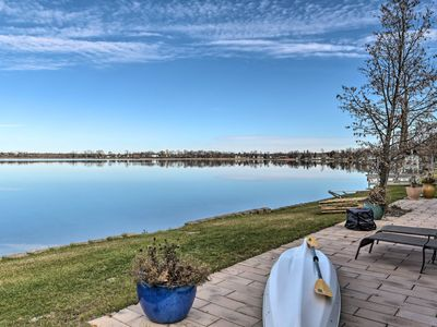 Photo for NEW! Lakefront Home 10 Min from Detroit Mountain!