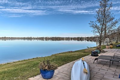 Relax in the 'Land of 10,000 Lakes' at this 2BR, 1BA vacation rental.