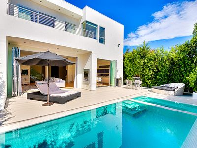 Photo for Gorgeous West Hollywood Modern Oasis With Pool and Hot Tub, Dream Furnishings