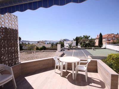 Photo for Bungalow moderno, cerca de la playa Cala del Pino Mal8