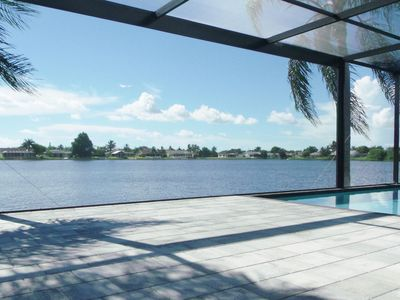 Photo for Perfect: Relaxed Waterfront Luxury with amazing pool, sunset views and Jacuzzi.