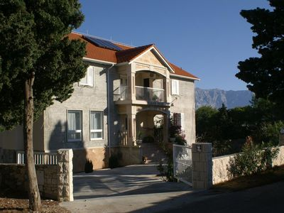 Photo for One bedroom apartment with air-conditioning Sumartin (Brač) (A-757-a)
