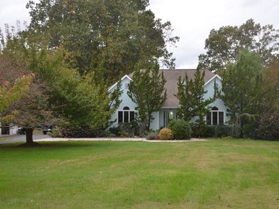 Photo for Beatiful Waterfront Home with Large Deck, Pool and Spa close to Bay Bridge