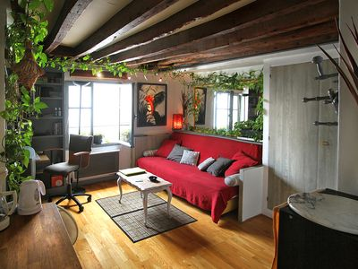Photo for Lovers nest in a quiet heart of St Germain des Prés and Latin Quarter