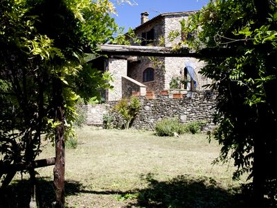 "Photo for Podere ""Belvedere"" ancient stone farmhouse"