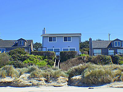 Photo for Our Beach House - Oceanfront in Waldport