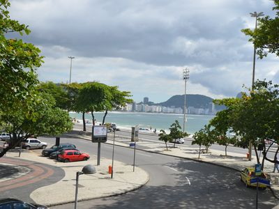 Photo for Luxury 3 bedroom apartment in front of Copacabana Mar