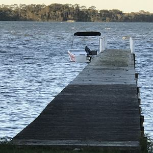 Tie up alongside your own private jetty for easy lake access
