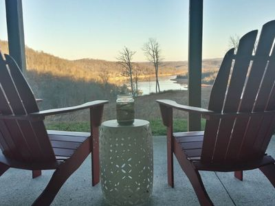 Photo for NEW LISTING! Spacious lakeview house with boat slip, firepit, amazing views!