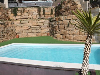Photo for House for 8 people with private pool at 350m from the beach.
