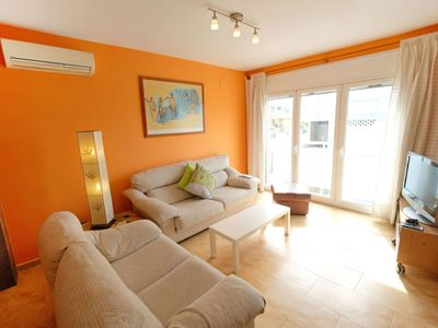 Photo for Vacation home Paco in L'Ampolla - 8 persons, 3 bedrooms