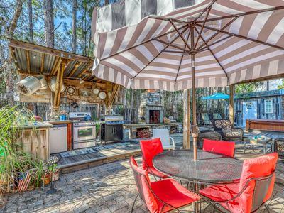 Photo for Lovely coastal home w/ private hot tub & outdoor kitchen - close to everything!