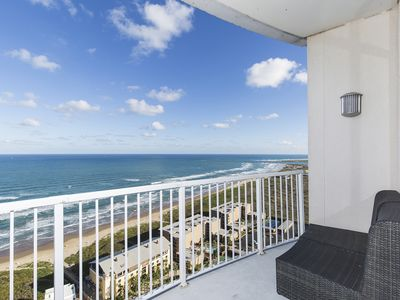 Photo for Ocean Views for Miles in our 26th Floor Condo at the Sapphire Resort & Spa!