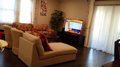 Photo for Lovely 3/2.5 Furnished Condo in N San Jose 北聖何西3/2.5寬敞整洁大房