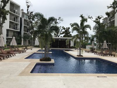 Photo for New apartment with  pool, security 24/7 and free private parking.