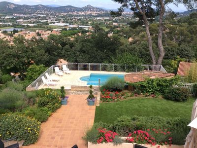 Photo for Hyeres, large villa: 7 bedrooms, lounge, pool, high comfort, ideal for a family