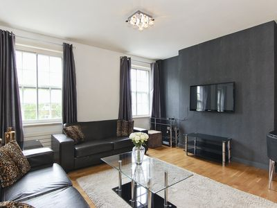 Photo for Knightsbridge 2 Minutes' From Harrods Luxury Two Bed Air Con Free WiFi